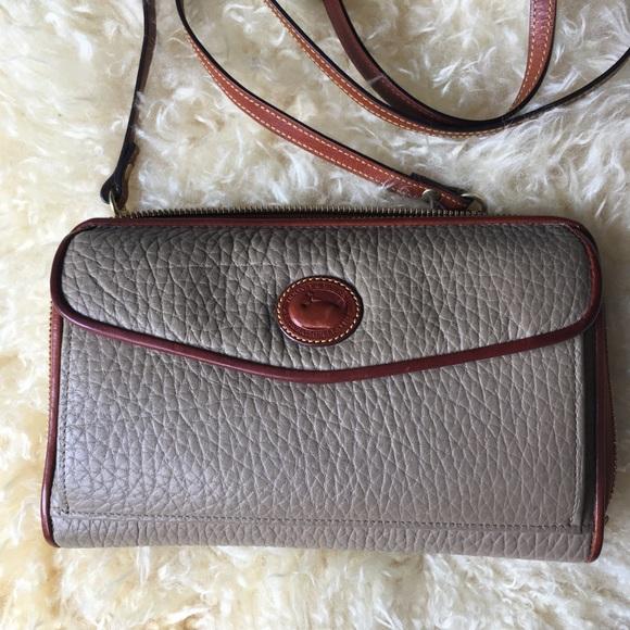 Dooney & Bourke Handbags - Vintage Dooney & Bourke Belt Bag Crossbody Wallet